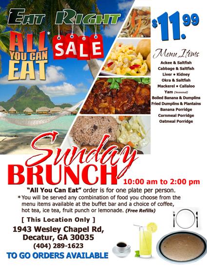Eat Right Caribbean Restaurant